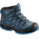 """Salomon Junior Xa Pro 3D Mid CSWP Shoes Mallard Blue/Reflecting Pond/Mykono"""